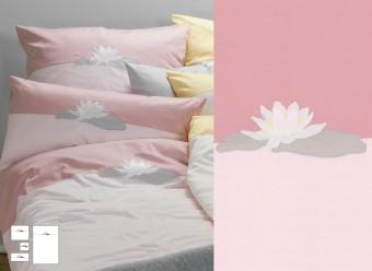 Graser-Seerose-rose-malve-Feinsatin