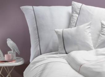 Graser-Bettwäsche-Ferrara-weiß-Damast Bettw�sche