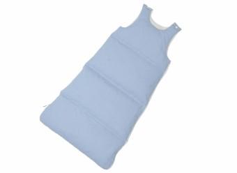 Hanskruchen-Daunen-Babyschlafsack-Bleu