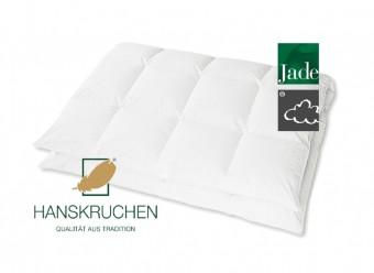 Hanskruchen Daunen Bettdecke Jade Medium