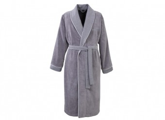 Hugo-Boss-Bademantel-Lord-Kimono-grey