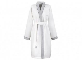 Hugo Boss Damenmantel Kimono Therms white