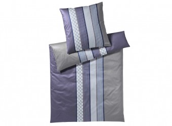 Joop!-Bettwäsche-Cornflower-Stripes-Satin-deep-violett