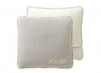 Joop!-Kissenbezug-Uni-Doubleface-feder-ecru