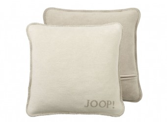 Joop!-Kissenbezug-Uni-Doubleface-pergament-sand