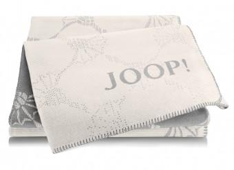 Joop!-Plaid-Cornflower-Double-ecru-graphit