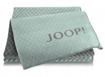 Joop!-Plaid-Diamond-aqua-schiefer