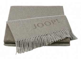 Joop!-Plaid-Fine-Doubleface-sand-taupe