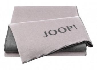 Joop!-Plaid-Melange-Doubleface-rose-grau