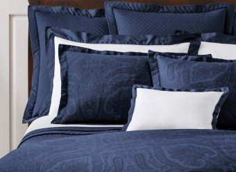 Ralph-Lauren-Bettwäsche-Doncaster-Satin-navy