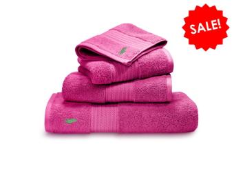 Ralph Lauren Handtuch Solid Polo Player pink