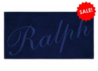 Ralph Lauren Strandtuch CL Ralph navy