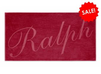 Ralph Lauren Strandtuch CL Ralph red
