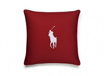 Ralph-Lauren-Pony-Dekokissen-Bezug-red-white