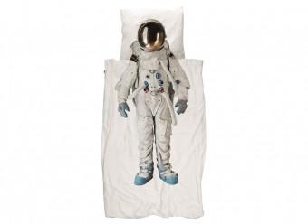 Snurk-Bettwäsche-Astronaut-Perkal