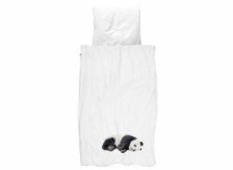 Snurk-Bettwäsche-Panda-Perkal