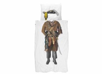 Snurk-Bettwäsche-Pirat-Perkal