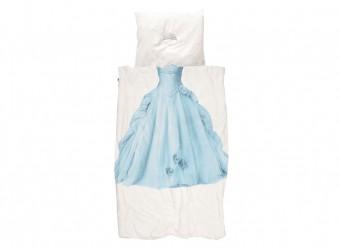 Snurk-Bettwäsche-Prinzessin-Perkal-blau