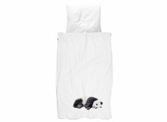 Snurk-Flanell-Bettwäsche-Panda