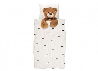 Snurk-Flanell-Bettwäsche-Teddy