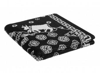 Weseta-Frottier-Handtücher-Chueli-schwarz-weiß