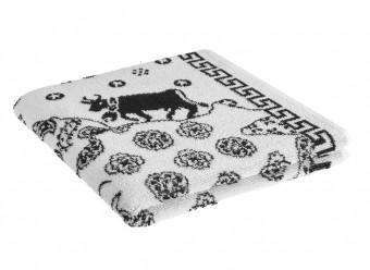 Weseta-Frottier-Handtücher-Chueli-weiß-schwarz