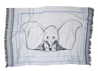 Zoeppritz-Kuscheldecke-Mickey-Dumbo-Ears-azur