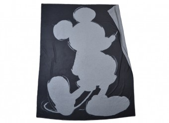 Zoeppritz-Kuscheldecke-Mickey-Soft-Mouse-black