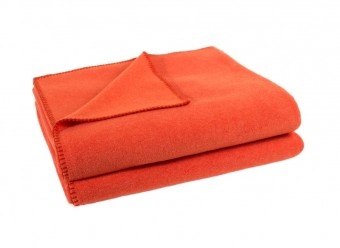 Zoeppritz-Kuscheldecke-Soft-Fleece-papaya