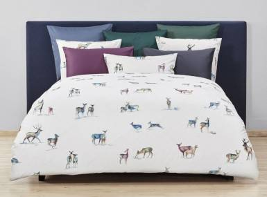 Vorschaubild christian fischbacher bettwaesche its-snowing-my-deer-satin b27 010