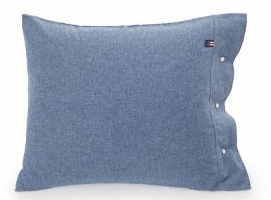Vorschaubild lexington flanell bettwaesche herringbone blau