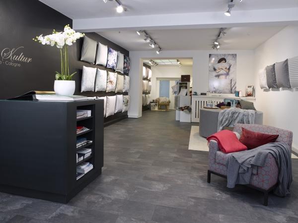 Innenansicht Showroom Waesche-Kultur